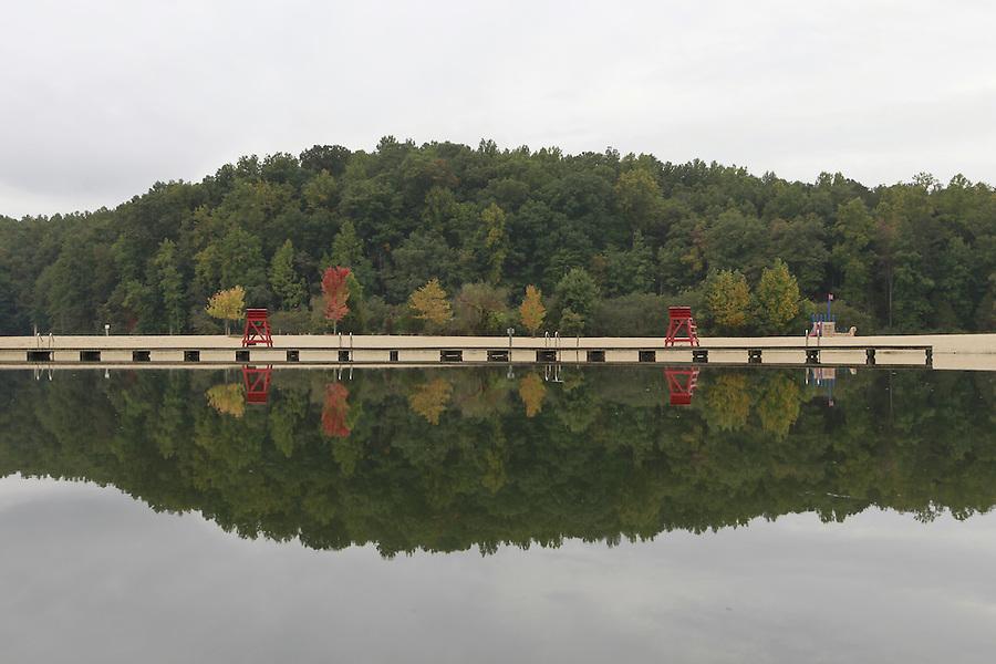 Chris Greene Lake in Albemarle County, VA. Photo/Andrew Shurtleff