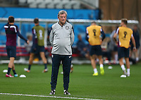 England manager Roy Hodgson during training ahead of tomorrow's Group D match vs Uruguay