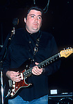David Hidalgo, Nov 1986. A singer-songwriter, best known for his work with the band Los Lobos. He is also a member of the supergroup Los Super Seven and of the Latin Playboys, a side project band made up of some of the members of Los Lobos. He formed another side project band with Mike Halby of Canned Heat, called Houndog. Hidalgo's songs have been covered by the Jerry Garcia Band, Waylon Jennings, Bonnie Raitt and others. He performed at Eric Clapton's Crossroads Guitar Festival, an honor bestowed upon only the most talented of guitarists.