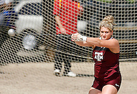 Texas A&M at the hammer competition on 3 20 09