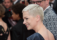 Michelle Williams at the premiere for &quot;Wonderstruck&quot; at the 70th Festival de Cannes, Cannes, France. 18 May  2017<br /> Picture: Paul Smith/Featureflash/SilverHub 0208 004 5359 sales@silverhubmedia.com