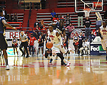 "Ole Miss' Derrick Millinghaus (3) vs. East Tennessee State's Kinard Gadsden-Gilliard (35) at the C.M. ""Tad"" Smith Coliseum in Oxford, Miss. on Saturday, December 14, 2012. Mississippi won 77-55 to improve to 7-1. (AP Photo/Oxford Eagle, Bruce Newman).."