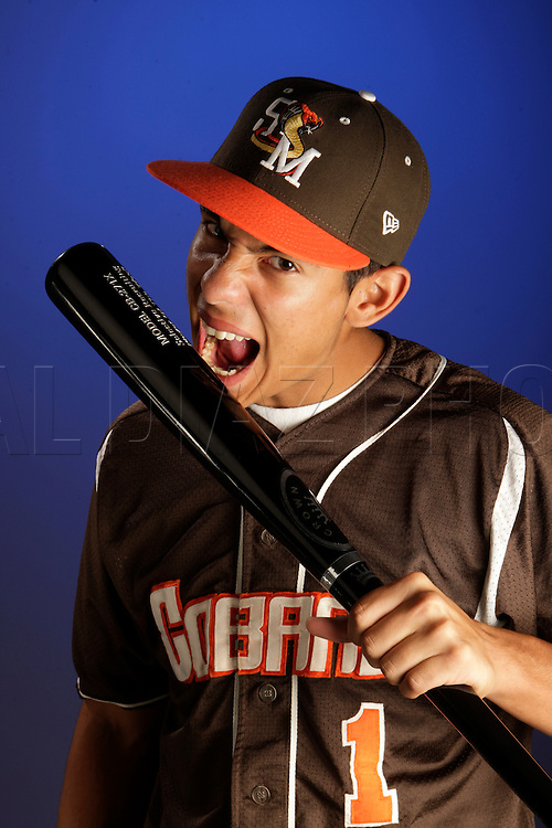 5-20-2009 AL DIAZ / THE MIAMI HERALD STAFF -- This is Camilo Baldelomar of South Miami High School for All-Dade baseball players photographed in the Miami Herald studio on Wednesday,  May 20, 2009..AL DIAZ / THE MIAMI HERALD STAFF...