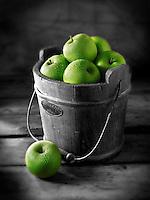 Fresh Granny Smiths apples