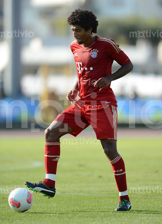 Fussball 1. Bundesliga:  Saison  Vorbereitung 2012/2013     Trainingslager des FC Bayern Muenchen 17.07.2012 Testspiel:  FC Bayern Muenchen - Trentino Auswahl Dante (FC Bayern Muenchen)