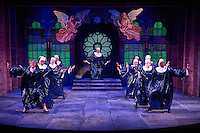 Sister Act presented by STAGES St. Louis in Robert G. Reim Theater in Kirkwood, Missouri on Sept 8, 2016.