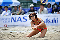 Miwa Asao (JPN), .MAY 4, 2012 - Beach Volleyball : JBV Tour 2012 Sports Club NAS Open at Odaiba Beach, Tokyo, Japan. (Photo by Jun Tsukida/AFLO SPORT) [0003].