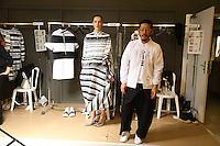 SEP 27 ANREALAGE backstage at Paris Fashion Week