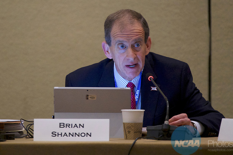 18 JAN 2017: The Division I Council meeting takes place during the 2017 NCAA Convention at the Gaylord Opryland Resort and Convention Center in Nashville, TN.  Jamie Schwaberow/NCAA Photos (Pictured:  Brian Shannon)