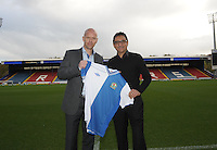 Football-Henning Berg Press Conference-Ewood Park-01/11/2012-Pictures by Paul Currie-Keep-Henning Berg and Shebby Singh