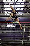 11 MAR 2011: Daniel Drewek of Wisconsin Stout pole vaults during the the Division III Men's and Women's Indoor Track and Field Championships held at the Capital Center Fieldhouse on the Capital University campus in Columbus, OH.  Jay LaPrete/NCAA Photos