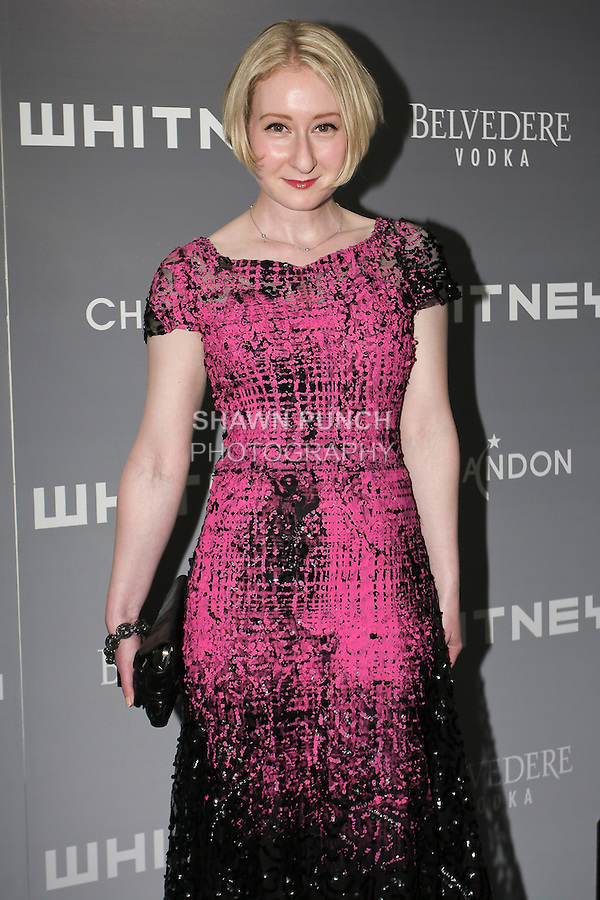 Sarah Brown arrives at the 2011 Whitney Art Party: The Groundbreakers, at Highline Stages, May 24, 2011.