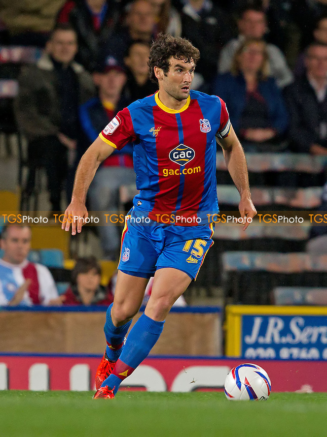 Mile Jedinak, Crystal Palace FC looks for a pass in midfield - Crystal Palace vs Nottingham Forest - NPower Championship Football at Selhurst Park, London - 18/09/12 - MANDATORY CREDIT: Ray Lawrence/TGSPHOTO - Self billing applies where appropriate - 0845 094 6026 - contact@tgsphoto.co.uk - NO UNPAID USE.