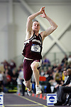 12 MAR 2011: Kevin Coyle of Springfield College triple jumps during the Division III Men's and Women's Indoor Track and Field Championships held at the Capital Center Fieldhouse on the Capital University campus in Columbus, OH. Jay LaPrete/NCAA Photos