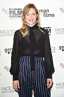 LONDON, UK. October 9, 2016: Julia Jentsch  at the Face to Face with German Films photocall as part of the London Film Festival 2016, Mayfair Hotel, London.<br /> Picture: Steve Vas/Featureflash/SilverHub 0208 004 5359/ 07711 972644 Editors@silverhubmedia.com