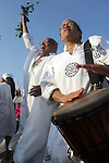 The 20th Annual Tribute to the Ancestors of the Middle Passage held at Coney Island, Brooklyn