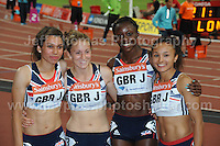 The first of the Great Britain's Women's 4x100m relay team at the Sainsbury Anniversary Games, Olympic Stadium, London England,Saturday 27th July 2013-Copyright owned by Jeff Thomas Photography-www.jaypics.photoshelter.com-07837 386244. No pictures must be copied or downloaded without the authorisation of the copyright owner.