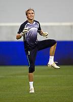 Oscar Jansson.  Tottenham defeated the New York Red Bulls, 2-1.