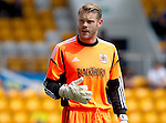Bristol City FC.... Season 2012-13.Dean Gerken.Picture by Graeme Hart..Copyright Perthshire Picture Agency.Tel: 01738 623350  Mobile: 07990 594431