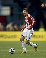 Chivas USA midfielder Sacha Kljestan (16) at midfield. Chivas USA defeated the New England Revolution, 4-0, at Gillette Stadium on May 5, 2010.