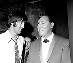 Spencer Davis and Bill Haley 1966 meet at concert at L'Olymoia in Paris, France<br /> &copy; Chris Walter