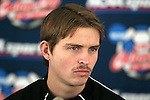 08 December 2005: New Mexico's Jeff Rowland during a press conference at SAS Stadium in Cary, North Carolina in preparation for the NCAA Men's Division I College Cup semifinals to be played the following day.