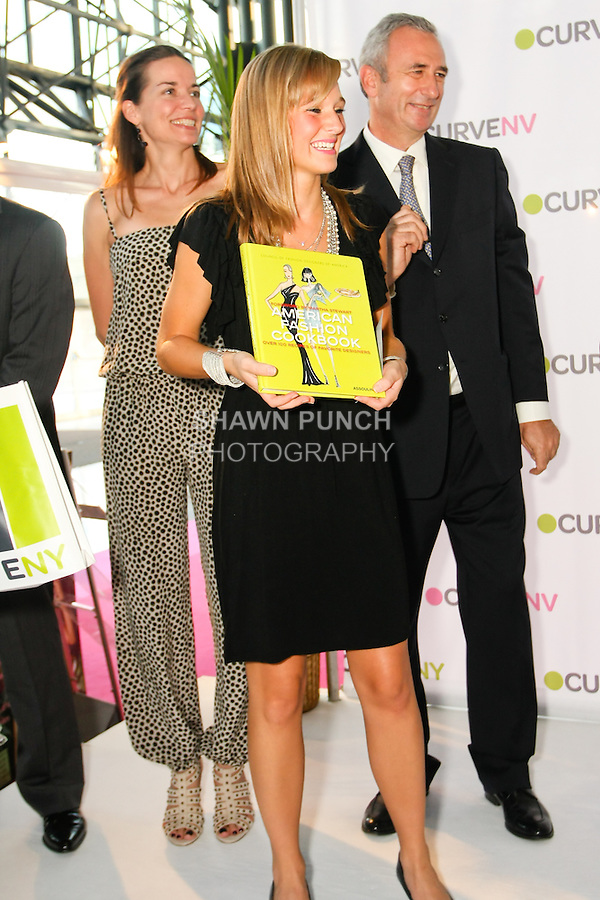 American Fashion Cookbook offered during charity raffle at the CURVE and CFDA Party For A Cause event during the CURVENY Lingerie & Swim show, at the Jacob Javits Convention Center, August 2, 2010.