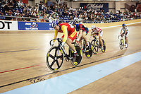 21 January 2007:   China cyclist at the UCI Track Cycling World Cup Classics @ the Home Depot Center, Carson CA.