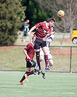 The Winthrop University Eagles played the UNC Wilmington Seahawks in The Manchester Cup on April 5, 2014.  The Seahawks won 1-0.  Pol Sole (10), Kellen Foster (12)