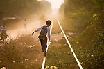 Cambodia's last passenger train route, Phnom Penh to Battambang