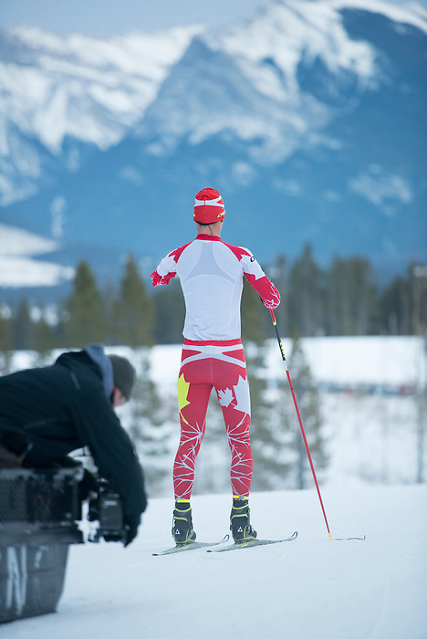 Lake Louise AB - Nov 25 2013 - Sochi Ad Campaign. (Photo: Matthew Murnaghan/Canadian Paralympic Committee)