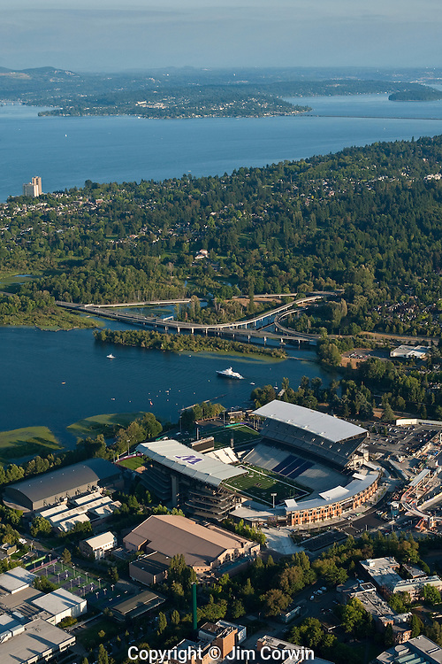 Aerial Images of the New Husky Stadium
