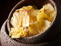 dried Yaçon root slices - stock photo