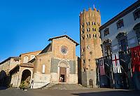 Collegiate Church of Saint Andrew, Piazza della Repubblica, Orvieto, Umbria, Italy