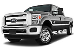 Ford F-250 Crew Cab 2011 Stock Photo