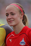 20 June 2009: Becky Sauerbrunn (22) of the Washington Freedom.  Saint Louis Athletica were defeated by the visiting Washington Freedom  0-1 in a regular season Women's Professional Soccer game at AB Soccer Park, in Fenton, MO.