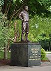 Jun. 13, 2011; Knute Rockne statue outside Notre Dame Stadium..Photo by Matt Cashore/University of Notre Dame