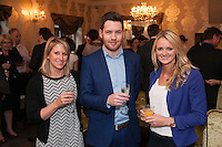 Daniel Otton of Buttercross Estates is flanked by Carrie Stack (left) and Jo Calver