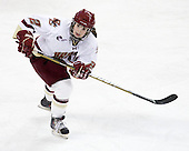 Kristina Brown (BC - 2) - The Boston College Eagles and the visiting University of New Hampshire Wildcats played to a scoreless tie in BC's senior game on Saturday, February 19, 2011, at Conte Forum in Chestnut Hill, Massachusetts.