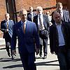 Nigel Farage <br /> UKIP Leader <br /> Resignation speech <br /> at Emmanuel Centre, Westminster, London, Great Britain <br /> 4th July 2016 <br /> <br /> <br /> Nigel Farage arriving at his resignation speech <br /> <br /> <br /> Photograph by Elliott Franks <br /> Image licensed to Elliott Franks Photography Services