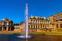 The Dresden Zwinger, Dresden, Saxony, Germany