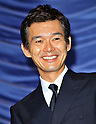 "Atsuro Watabe, Jun 02, 2012 : Tokyo, Japan : Actor Atsuro Watabe attends a stage greeting during the opening day for the film ""Gaiji Keisatsu"" in Tokyo, Japan, on June 2, 2012."