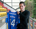 St Johnstone Players Sponsors Night, McDiarmid Park...09.05.12.Kevin Moon.Picture by Graeme Hart..Copyright Perthshire Picture Agency.Tel: 01738 623350  Mobile: 07990 594431