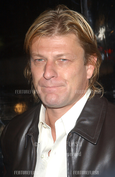 Actor SEAN BEAN at the world premiere of his new movie The Big Empty, as part of the AFI Film Festival in Los Angeles..November 9, 2003