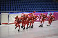 SCHAATSEN: IJSSTADION THIALF: 21-06-2013, Training zomerijs, ©foto Martin de Jong