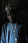 A boy in Despagne, a rural village in southern Haiti where the Lutheran World Federation has been working with residents to improve their quality of life.