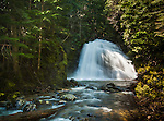 Snow Creek Falls in North Idaho