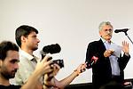 Massimo D'Alema all'assemblea per il No al Referendum