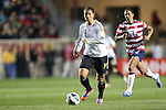 20 October 2012: Dzsenifer Marozsan (GER). The United States Women's National Team played the Germany Women's National Team at Toyota Park in Bridgeview, Illinois in a women's international friendly soccer match. The game ended in a 1-1 tie.