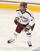 Michael Matheson (BC - 5) - The Boston College Eagles defeated the University of Vermont Catamounts 4-1 on Friday, February 1, 2013, at Kelley Rink in Conte Forum in Chestnut Hill, Massachusetts.
